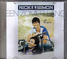 Nick&Simon-Een Zomer Lang Promo cd single