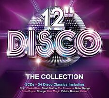 """VARIOUS ARTISTS - 12"""" DISCO: THE COLLECTION 3CD SET (2013)"""