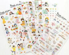 Pony Brown Heeda Stickers 6 Sheets - Album, Organizer & Day Planner Decoration