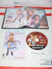FINAL FANTASY X-2 rpg game complete w/ manual for Playstation 2 PS2