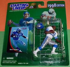 1998 BARRY SANDERS Detroit Lions exclusive Meijers -only $4 s/h- Starting Lineup