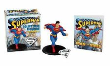 NEW Superman Collectible Figurine and Pendant Kit + 48 Page Illustrated Book