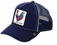 New Goorin Brothers Animal Farm Trucker Hat - Barn Collection Gallo/Navy