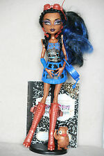 Monster High Puppe Robecca Steam Basic 1. Serie Wave komplett complete doll