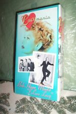 Lucille Ball MANIA  2000 Bob Hope Meets I Love Lucy VHS New In Shrink