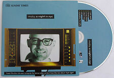 MOBY - a night in nyc - promo CD