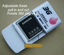 Universal Battery Charger With USB port for cell phone,mobile,digital camera