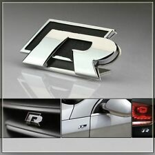 R Racing Black Metal Sticker Ford Figo Classic Fiesta Ecosport