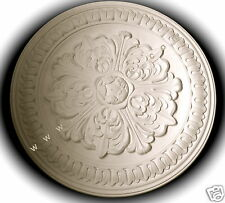 PLASTER CEILING ROSE - Leaf/Lambs Tongue 52cm CP14