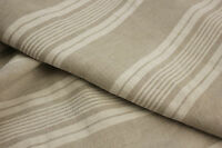 Antique French flax linen mattress cover fabric material for upholstery cutting