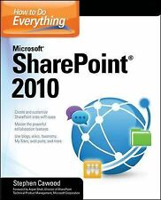 Sharepoint How To Do Everything - Microsoft Sharepoint 10 (2010) - New - Tr