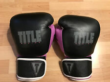 Title GEL Purple Boxing MMA Gloves- XL