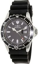 Invicta Men's Pro Diver 10917 Black Silicone Swiss Quartz Watch