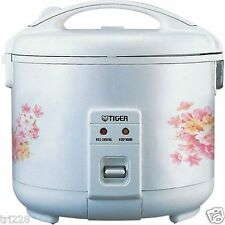 Tiger JNP-1000-FL 5-Cup (Uncooked) Rice Cooker and Warmer, Floral White