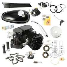 80CC CYCLE BLACK MOTOR MUFFLER MOTORIZED BICYCLE BIKE ENGINE GAS KIT