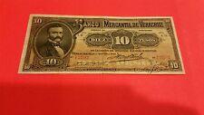 Mexico 10 peso pick S-439b rare VF 1903 Mercantil de Veracruz