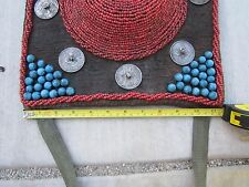 """1800s-1900s,TIBET 45""""Lx11""""H(115x28CM),Old Coins,Coral Hats, Blue Stones,Nice Art"""