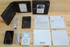  Apple iPod Classic 5.5th 30gb Generation in Original box + Cover ★New EarPods★
