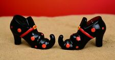 Wicked Witch Shoe Scary Salt & Pepper Shaker - Halloween Condiment Set