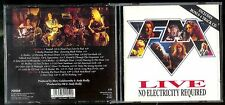 FM - LIVE NO ELECTRICITY REQUIRED 2CD 1993 CDMFN155 MUSIC FOR NATIONS