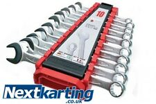 Teng Tools 6510A Combination Spanner Set  8-19mm - Lifetime Warrenty -TKM ROTAX