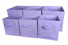 Foldable Cloth Storage Cube Basket Bins Organizer Containers Drawers Home 6 Pack