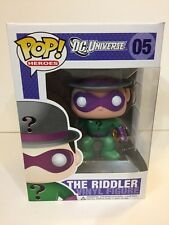 Funko Pop DC Universe 05 The Riddler Retired Vaulted Retired Rare