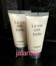 La Vie Est Belle Lancome 2x 50ml = 100ml Nourishing Fragrance Body Lotion New!