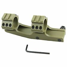 """1"""" INCH (OD GREEN) Tactical  Dual Ring Cantilever Scope Mount Picatinny PEPR"""