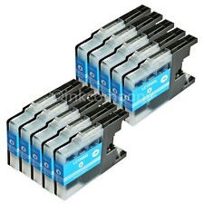 10x LC1240 XL DCP-J525W MFC-J625DW MFC-J6510DW MFC-J6710DW cyan Brother