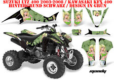 Amr racing decoración Graphic kit ATV suzuki ltz & Kawasaki KFX Mandy B