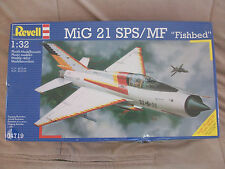 """1/32 - Mikoyan Gurevich Mig-21 SPS/MF Fishbed """" White Shark """" - Revell # 04719"""