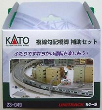 Kato 23-049 Double Track Viaduct Gradual Pier Set (N scale)