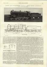 1914 Lswr Next Traffic Locomotive Schilowsky Gyroscopic Monorail