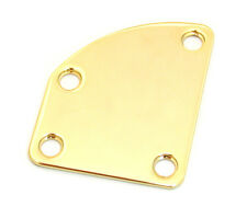 Gold Offset/Contoured Heel Neck Plate Kit for Fender® Deluxe Guitars NP-DLX-G