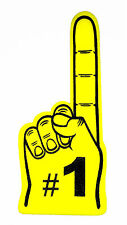 "Giant No.1 Foam Finger 24"", Yellow"
