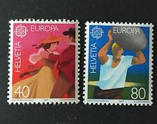 Suisse / Schweiz Europa : Zumstein n° 654 - 655 neuf**
