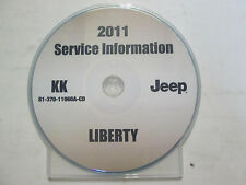 2011 JEEP LIBERTY Service Shop Repair Manual CD DVD BRAND NEW FACTORY OEM MOPAR