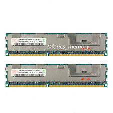 New Hynix 8GB 2x4GB 2RX4 PC3-10600R  DDR3 1333mhz Only  ECC Server Reg Memory