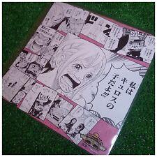 Mugiwara Store One Piece Illustration Sheet Rebecca Kyros -Parent and Child-