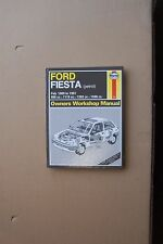 Haynes WORKSHOP MANUALE FORD FIESTA