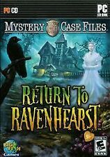 Mystery Case Files: Return to Ravenhearst (PC, 2009) Rated Everyone 10+