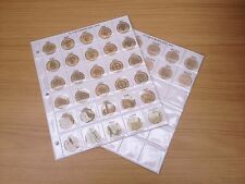 Classic Coin Album Pages for £1 - Decimal One Pound Coin Collection in Colour