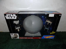 Star Wars Death Star Play Case & 4-pc. Starship Set by Hot Wheels BRAND NEW!