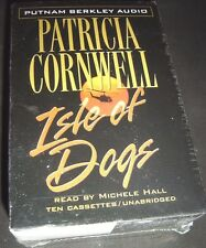 Isle of Dogs by Patricia Cornwell (2001, Cassette, Abridged, Unabridged) NEW