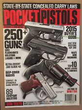 Gun Buyer's Annual Pocket Pistols 2015 Concealed Carry Laws Colt FREE SHIPPING!