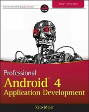 Professional Android 4 Application Development by Reto Meier (2012, Paperback)