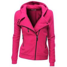 Womens Hooded Hoodie Sweatshirt Sportswear Zip Coat Jacket Jumper Tracksuit Tops
