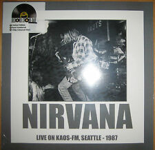 NEU + OVP Limited Vinyl LP Kaos FM Seattle 1987 Nirvana Record Store Day 2016