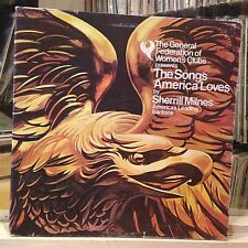 [CLASSICAL]~EXC LP~SHERRILL MILNES~The Songs America Loves~{1976 RCA Issue]~